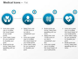 Heart Health Doctor Hospital Heart Ecg Ppt Icons Graphics