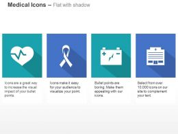 heart_health_hiv_battery_record_ppt_icons_graphics_Slide01