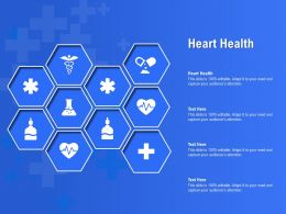 Heart Health Ppt Powerpoint Presentation Infographic Template Grid