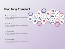 Heart Lung Transplant Ppt Powerpoint Presentation Slides Gridlines