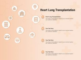 Heart Lung Transplantation Ppt Powerpoint Presentation Visual Aids Styles