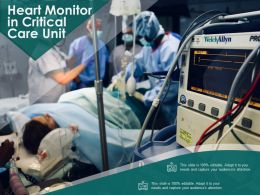 Heart Monitor In Critical Care Unit