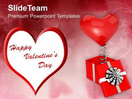 Heart Wishing Valentines Day PowerPoint Templates PPT Themes And Graphics 0213