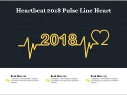 Heartbeat 2018 Pulse Line Heart