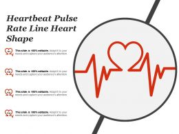 Heartbeat Pulse Rate Line Heart Shape