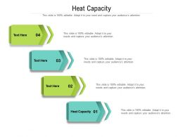Heat Capacity Ppt Powerpoint Presentation Icon Graphics Pictures Cpb