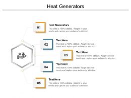 Heat Generators Ppt Powerpoint Presentation Styles Outfit Cpb