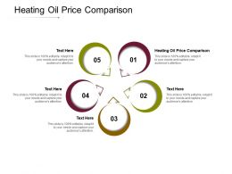 Heating Oil Price Comparison Ppt Powerpoint Presentation Gallery Icon Cpb