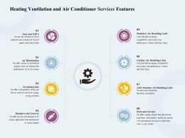 Heating Ventilation And Air Conditioner Services Features Ppt Gallery
