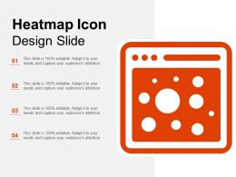 Heatmap Icon Design Slide