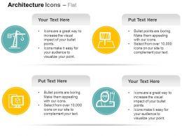 Heavy Crane Building Design Apps Architect Ppt Icons Graphics