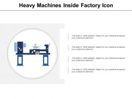 Heavy Machines Inside Factory Icon