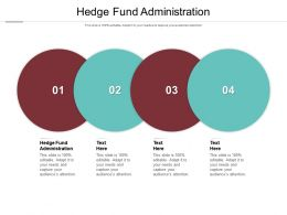 Hedge Fund Administration Ppt Powerpoint Presentation Ideas Elements Cpb