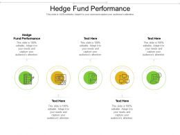Hedge Fund Performance Ppt Powerpoint Presentation Ideas Portfolio Cpb