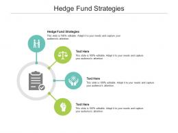 Hedge Fund Strategies Ppt Powerpoint Presentation Pictures File Formats Cpb