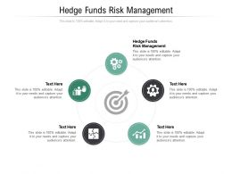 Hedge Funds Risk Management Ppt Powerpoint Presentation Gallery Graphics Pictures Cpb