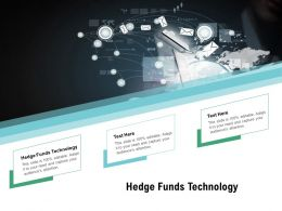 Hedge Funds Technology Ppt Powerpoint Presentation Infographic Template Grid Cpb
