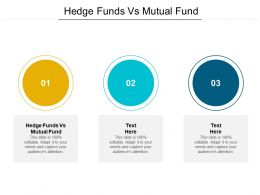 Hedge Funds Vs Mutual Fund Ppt Powerpoint Presentation Icon Portfolio Cpb