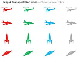 helicopter_plane_rocket_ufo_ppt_icons_graphics_Slide02