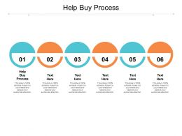Help Buy Process Ppt Powerpoint Presentation Slides Graphics Template Cpb