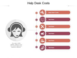 Help Desk Costs Ppt Powerpoint Presentation Styles Templates Cpb
