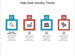 Help Desk Industry Trends Ppt Powerpoint Presentation Inspiration Layout Cpb