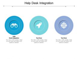 Help Desk Integration Ppt Powerpoint Presentation Visual Aids Example 2015 Cpb