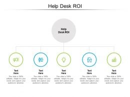 Help Desk ROI Ppt Powerpoint Presentation Ideas Picture Cpb