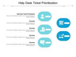 Help Desk Ticket Prioritization Ppt Powerpoint Presentation Slides Master Slide Cpb