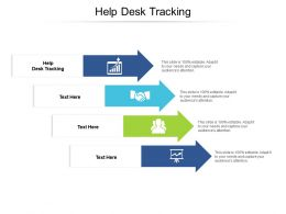 Help Desk Tracking Ppt Powerpoint Presentation Layouts Demonstration Cpb