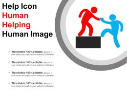 Help Icon Human Helping Human Image