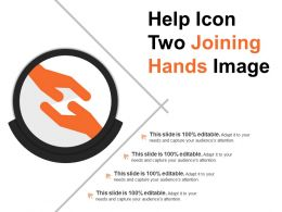 Help Icon Two Joining Hands Image