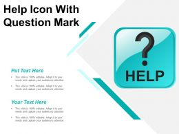 Help Icon With Question Mark