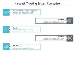 Helpdesk Ticketing System Comparison Ppt Powerpoint Presentation Infographic Template Designs Cpb