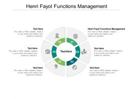 Henri Fayol Functions Management Ppt Powerpoint Presentation Background Cpb