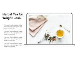 Herbal Tea For Weight Loss