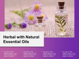Herbal With Natural Essential Oils