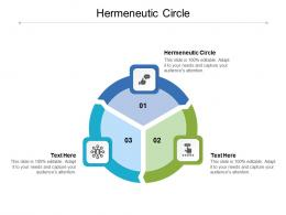 Hermeneutic Circle Ppt Powerpoint Presentation Infographic Template Graphics Pictures Cpb
