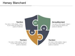 Hersey Blanchard Ppt Powerpoint Presentation Infographic Template Example Cpb