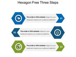 Hexagon Free Three Steps