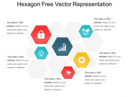 Hexagon Free Vector Representation