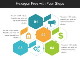 Hexagon Free With Four Steps