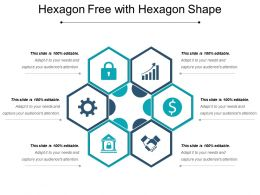 Hexagon Free With Hexagon Shape