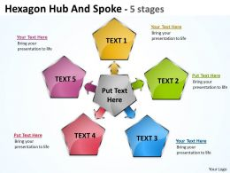 Hexagon Hub And Spoke 5 stages 15