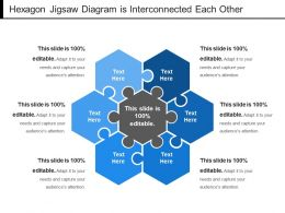 hexagon_jigsaw_diagram_is_interconnected_each_other_Slide01