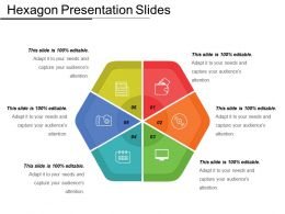 Hexagon Presentation Slides Powerpoint Graphics