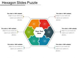 Hexagon Slides Puzzle Powerpoint Topics