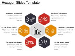 Hexagon Slides Template Ppt Example 2018