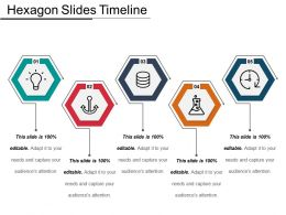 Hexagon Slides Timeline Ppt Examples Professional