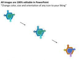hexagon_with_four_arrows_data_analysis_flat_powerpoint_design_Slide02